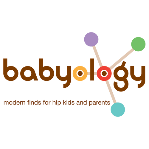 Babyology Logo, modern finds for hip kids and parents